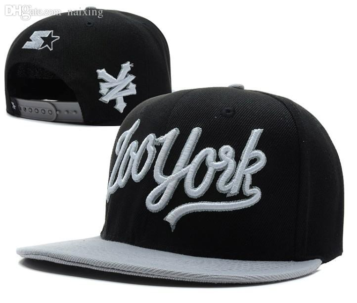 2019 Wholesale New Arrival ZooYork Snapback Hats Black Grey Most Popular  Mens Or Women Baseball Caps Sun Hat Sports Cap Cheap From Naixing 14882f7052d