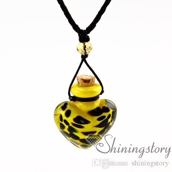 aromatherapy necklace wholesale perfume vial necklace small perfume bottle pendant necklace diffusers aromatherapy necklace wholesale perfum