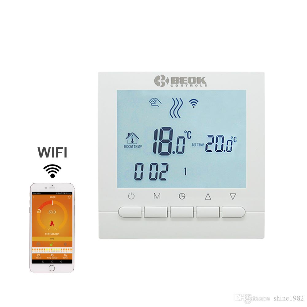2018 Programmable Room Heating Boiler Wifi Thermostat Digital ...