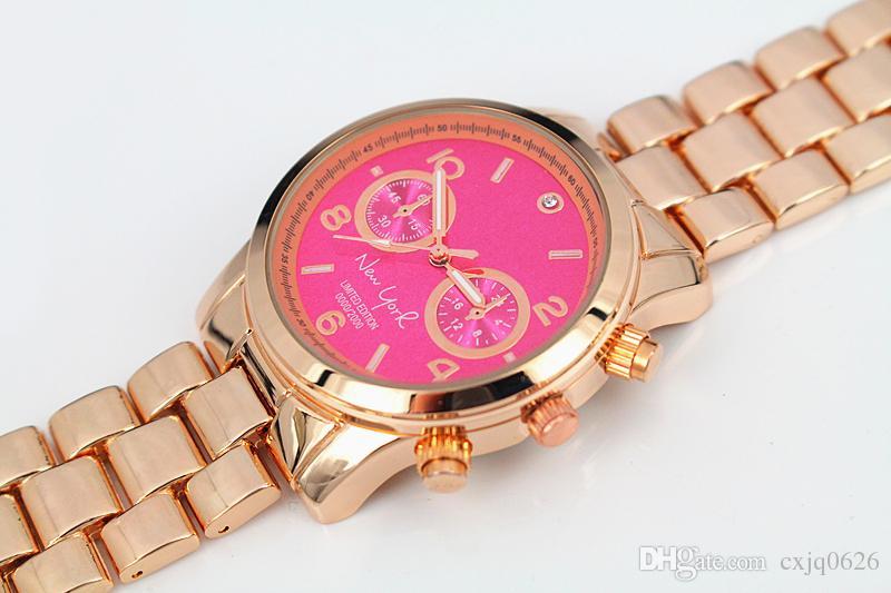 2019 뜨거운 판매 패션 명품 시계 여성 브랜드의 새로운 시계 톱 satinless 스틸 손목 시계 석영 고품질의 손목 시계 고귀한 여성 테이블