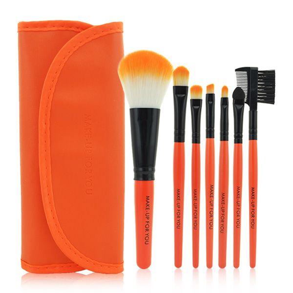 = di trucco di spazzola pennelli di Case Set spazzole di trucco strumenti trucco da toeletta del corredo delle lane di marca compone la spazzola con il sacchetto di PU 0.605.004