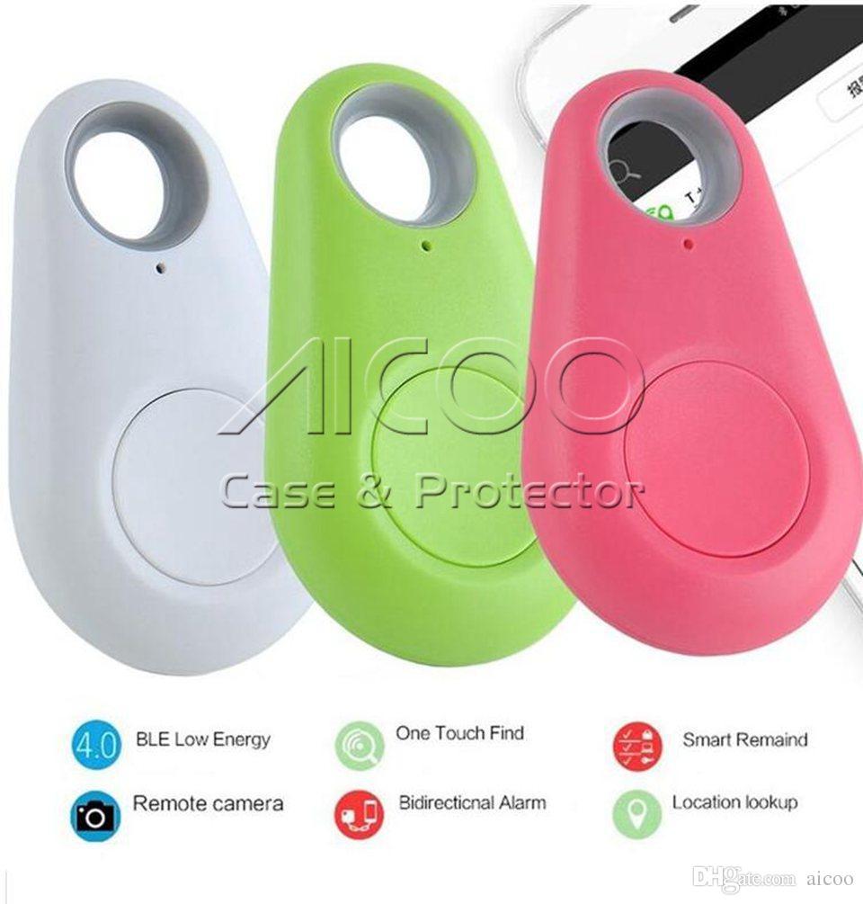 GPS Tracker Mini Wireless Telefon Bluetooth 4.0 Alarm iTag Key Finder Sprachaufnahme Anti Verloren für IOS Android Retailpackage