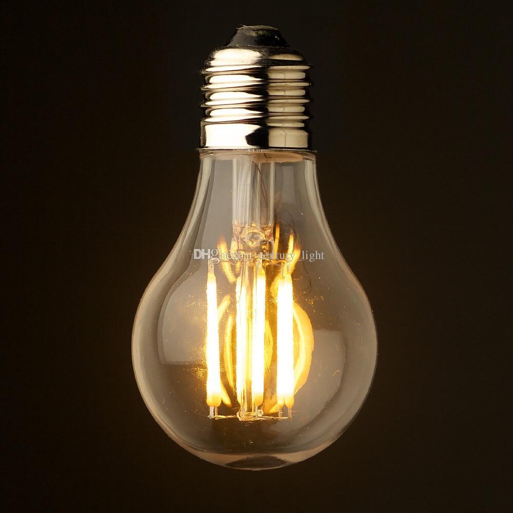 6w 240v Dimmable Style Led Antique Chaud 4w Blanc 10w Edison 2700k 110 Certifiée Classique Ampoule 8w Ul A19 dhrCtsQx