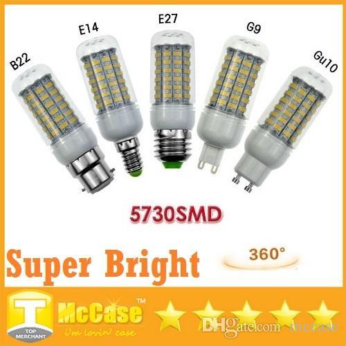 Dhl G9 Led Bulbs Light 18w Smd 5730 E27 E14 Gu10 B22 Led Spot Lights