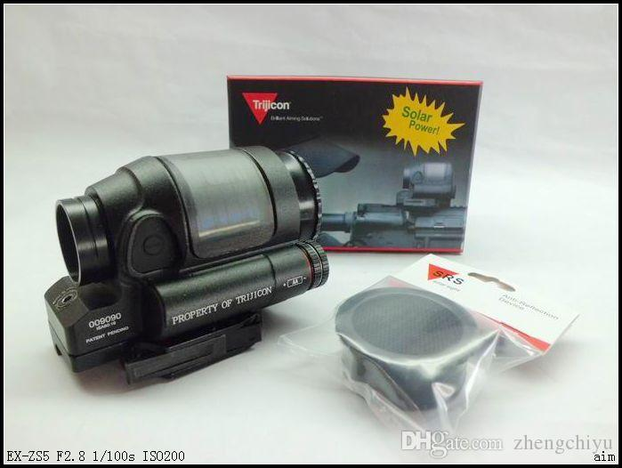 2016 New Trijicon SRS 1x38 Solar power Holosight with Anti-Reflection Device for airsoft Red Dot Sight