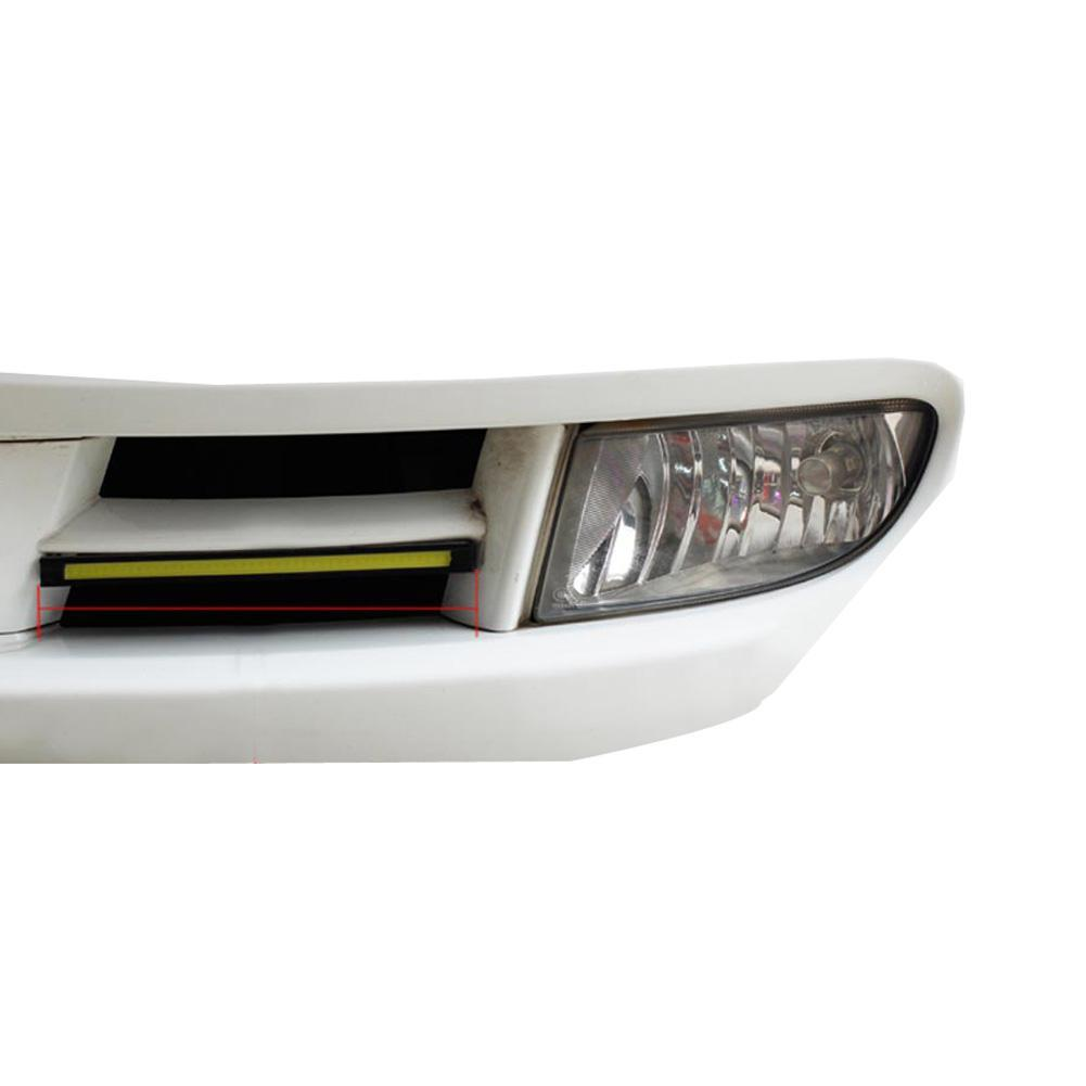2 * 17 cm COB LEDs Universal Ultra-fino DigiD LED Strip Carro Daytime Running Light Drl Aviso Nevoeiro Lâmpada Decorativa