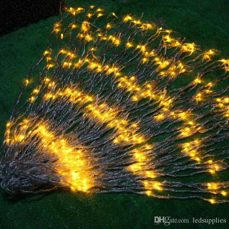 6 متر * 3 متر 640 led شلال سلسلة الستار ضوء المصابيح تدفق المياه عيد الميلاد حفل زفاف عطلة الديكور الجنية سلسلة الأنوار للماء