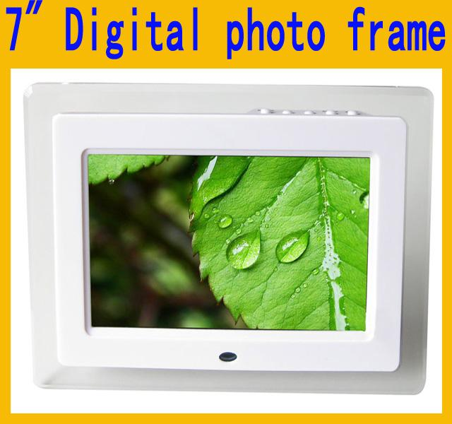 7 7 Inch Hd Led Digital Photo Frame Acrylic Multimedia Digital