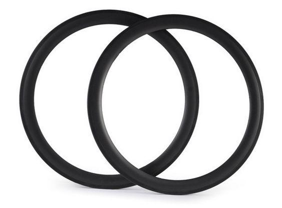 super light U Shape 700c 50mm carbon Tubular rims for road bike 23mm width carbon T700 for racing bicycle wheel