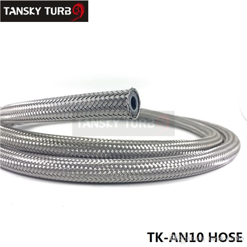 Tansky  -  New 10an An -10 1Mステンレス鋼燃料油ガス編組ホースラインTK-AN10ホース