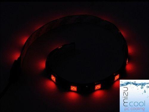 5050 SMD 30cm Rouge Bleu Blanc Vert LED Bande Lumineuse pour Connecteur Ordinateur PC Câble Gaine Molex Connecteur 12V