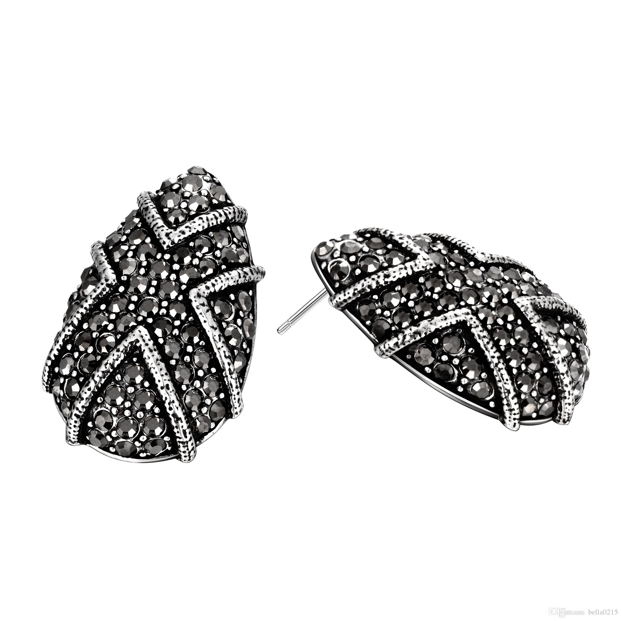 jewelry in gallery bow product stud earrings jacobs lyst normal silver marc antique rope metallic