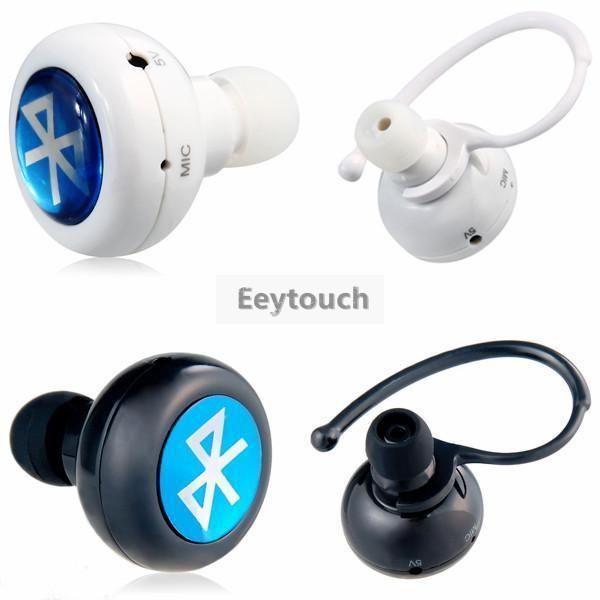 c942ecafda5 Ultra Micro 3.5mm Ear Plug In Mini Headset Bluetooth 4.0 Stereo Earbud  Universal Wireless Handsfree Headphone Ear Hook Earphone Earbuds Wireless  Earbuds ...