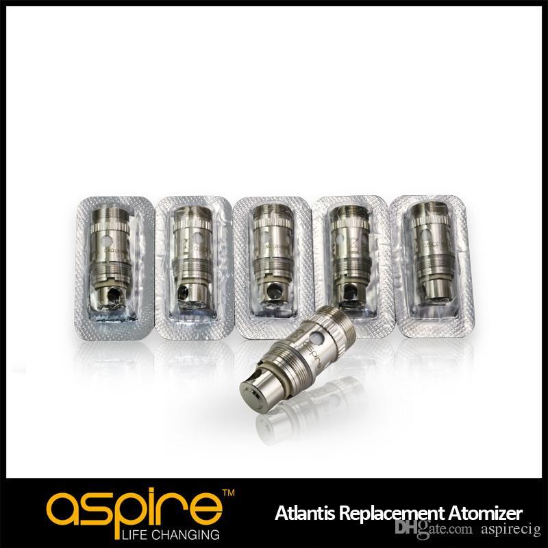 Venda por atacado - Mais novo Aspire Original Atlantis Sub ohm Bobina para Aspire mais novo Atlantis 2ml tanque grande vapor com melhor sabor frete grátis