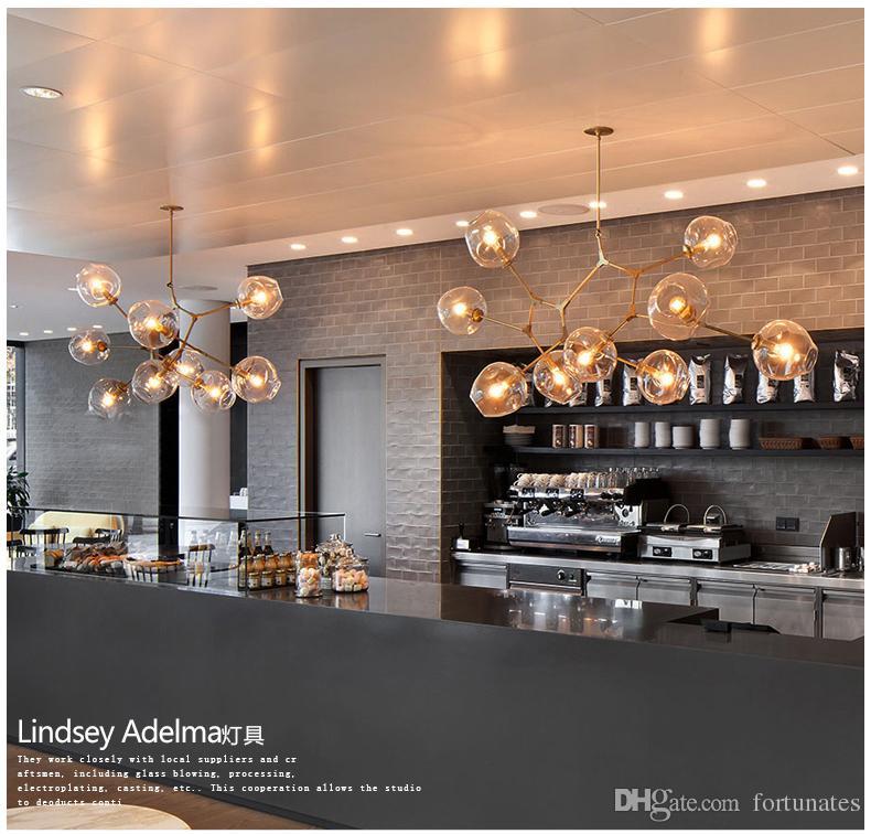 office pendant lighting. discount lindsey adelman light creative branching bubble glass chandelier modern art pendant office living room hanging ceiling lighting a