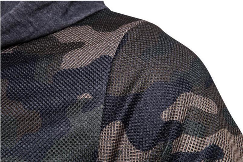 Wholesale New Arrivals Mens Hoodies and Sweatshirts Zipper Hooded Sweatshirts Male Clothing Fashion Military Hoody For Men Printed Hoodies
