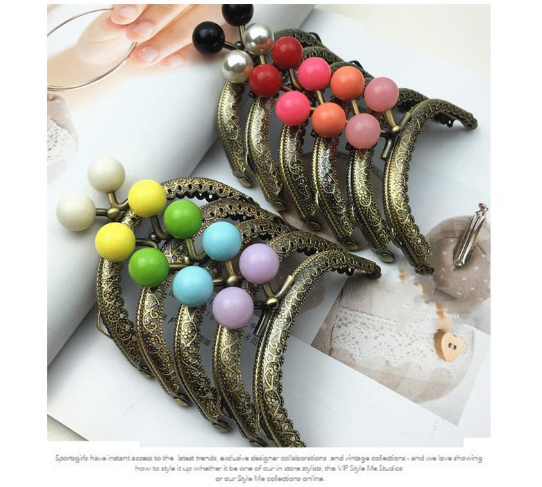 Compre Color Colorido Caramelo Hebilla Mujeres Pequeñas Marco Del ...