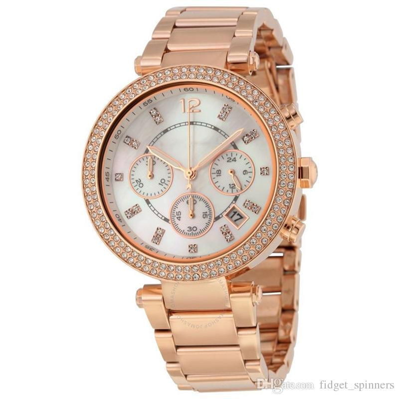 Compre Relojes Para Mujer Hora 5491 Alta Calidad Chrono Gráfico Reloj De  Pulsera Horas Reloj De Pulsera Reloj De Pulsera De Oro. A  76.4 Del  Fidget spinners ... 71e8b7357b80
