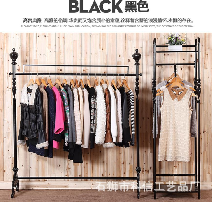 iron clothing rack clothing store display racks for hanging clothes rack clothing floor pendant display shelves from xwt5242 dhgatecom