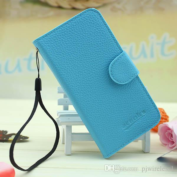 For ZTE prestige N9132 PU Flip Leather case For LG G4 G2 G3 Stylus D690 Wallet Case Cell Phone Cover Case Free DHL