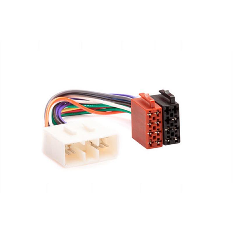 Carav 12-021 ISO Radio Adapter for Subaru/ Renault Traffic Wiring Harness  Connector Lead Loom Cable Plug Adaptor Stereo