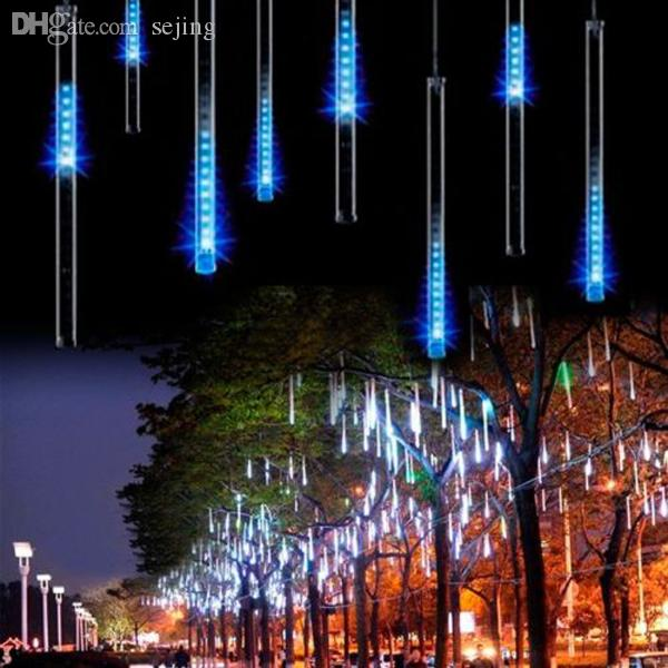 Led Rope Light Section Not Working: Wholesale 30CM 8Tubes Rain Drop/Icicle Snow Fall String