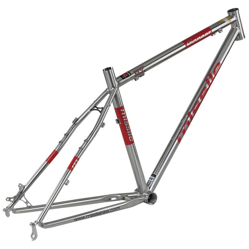 Missile Pioneer 26 Titanium Colored Mountain Bike Pioneer Steel ...