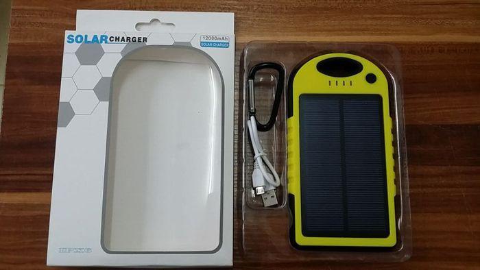 Solar battery charger power bank 5000mah 12000mah waterproof shockproof dustproof solar chargers 5000 mah 12000 mah 2-port solar panel
