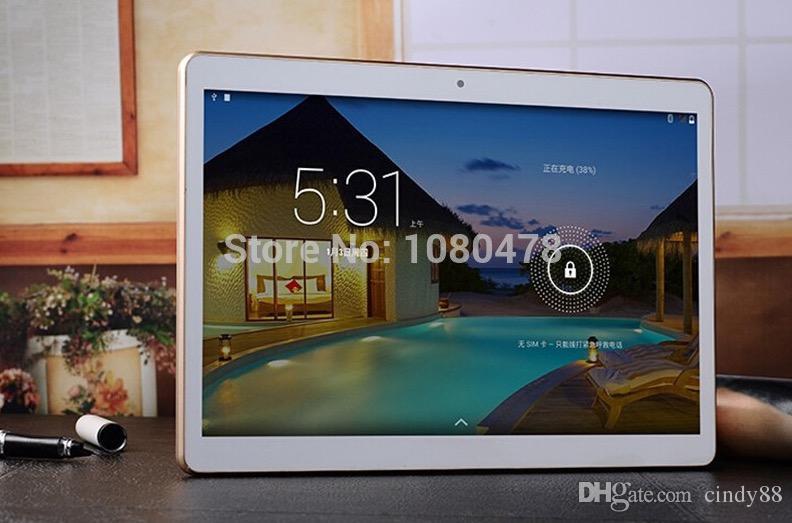Tablet PC 10,1 Zoll MTK8382 Quad-Core 3G Telefon Android5.0 Tablet 1GB Ram 16GB Rom IPS-Bildschirm wifi Bluetooth