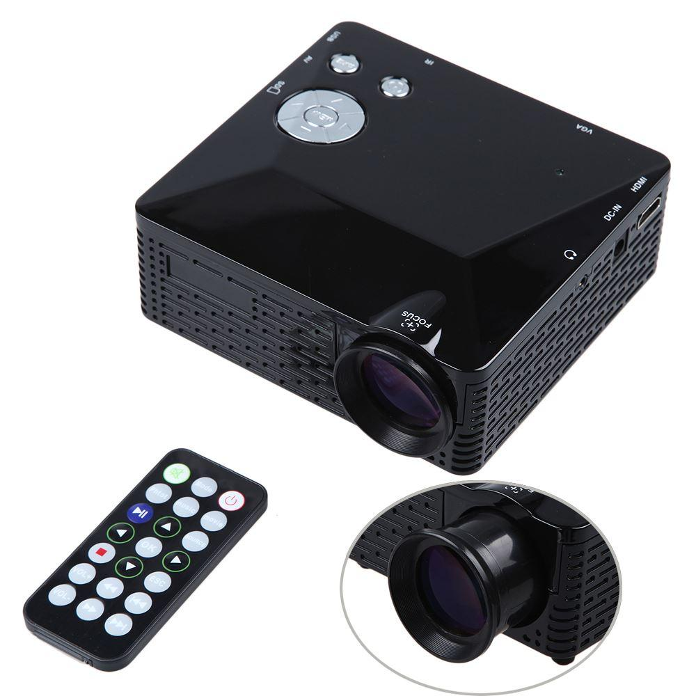 Popular E03 Tv Projector Mini Led Projector Home Theater: 2019 DBPOWER Mini LED Projector 500 Lumens Portable Pocket