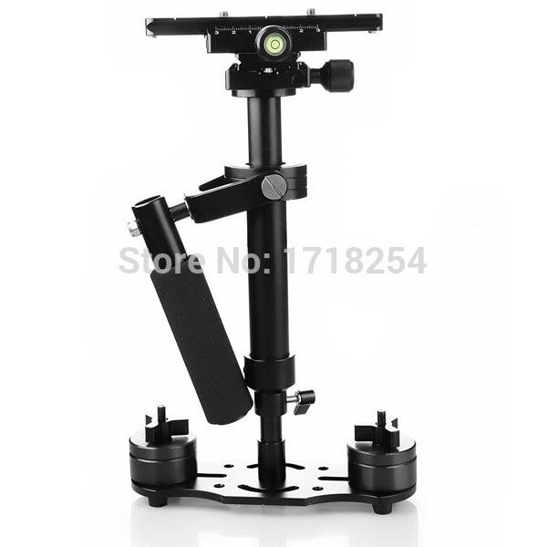 Freeshipping S40 40cm Professional Handheld Stabilizer Steadicam for Camcorder Digital Camera Video Canon Nikon Sony DSLR Mini Steadycam