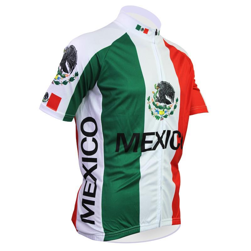 Cycling Jerseys New MEXICO Alien SportsWear Mens Cycling Jersey ... 2b57393a6
