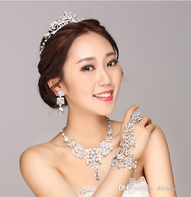 Real image sexy 2015 Bridal jewelry chain bracelets Alloy wedding accessories body Jewelry wedding jewelry