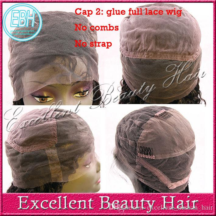 Human brazilian hair glueless full lace wig &lace front human hair wigs with bangs right side part body wave lace wigs