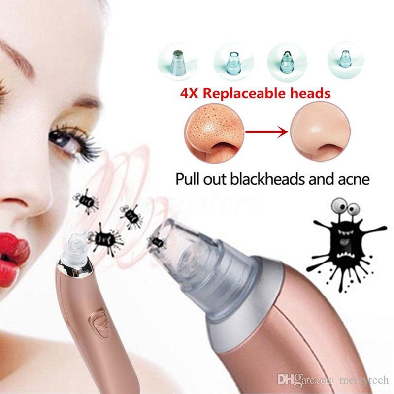 Macchina facciale elettrica di rimozione del dispositivo di rimozione di comedone del dispositivo di rimozione del comedone di rimozione del comedone del fronte del fronte elettrico
