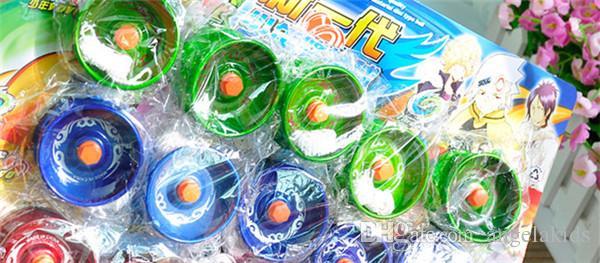 Мода световой света вспышка Йо-Йо ЖК мигать Йо-Йо мяч игрушки Детские игрушки для детей развлечение MHM413