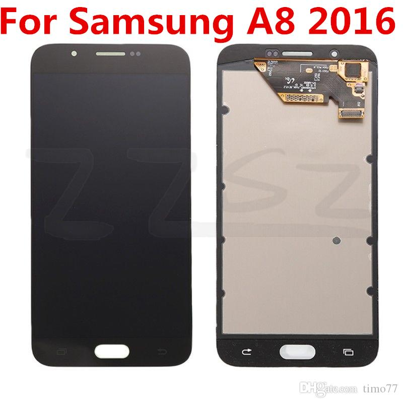 Brand New For Samsung Galaxy A8 2016 A8 LCD Touch Screen Digitizer Original LCD Replacement 100% Tested with free repairing tools