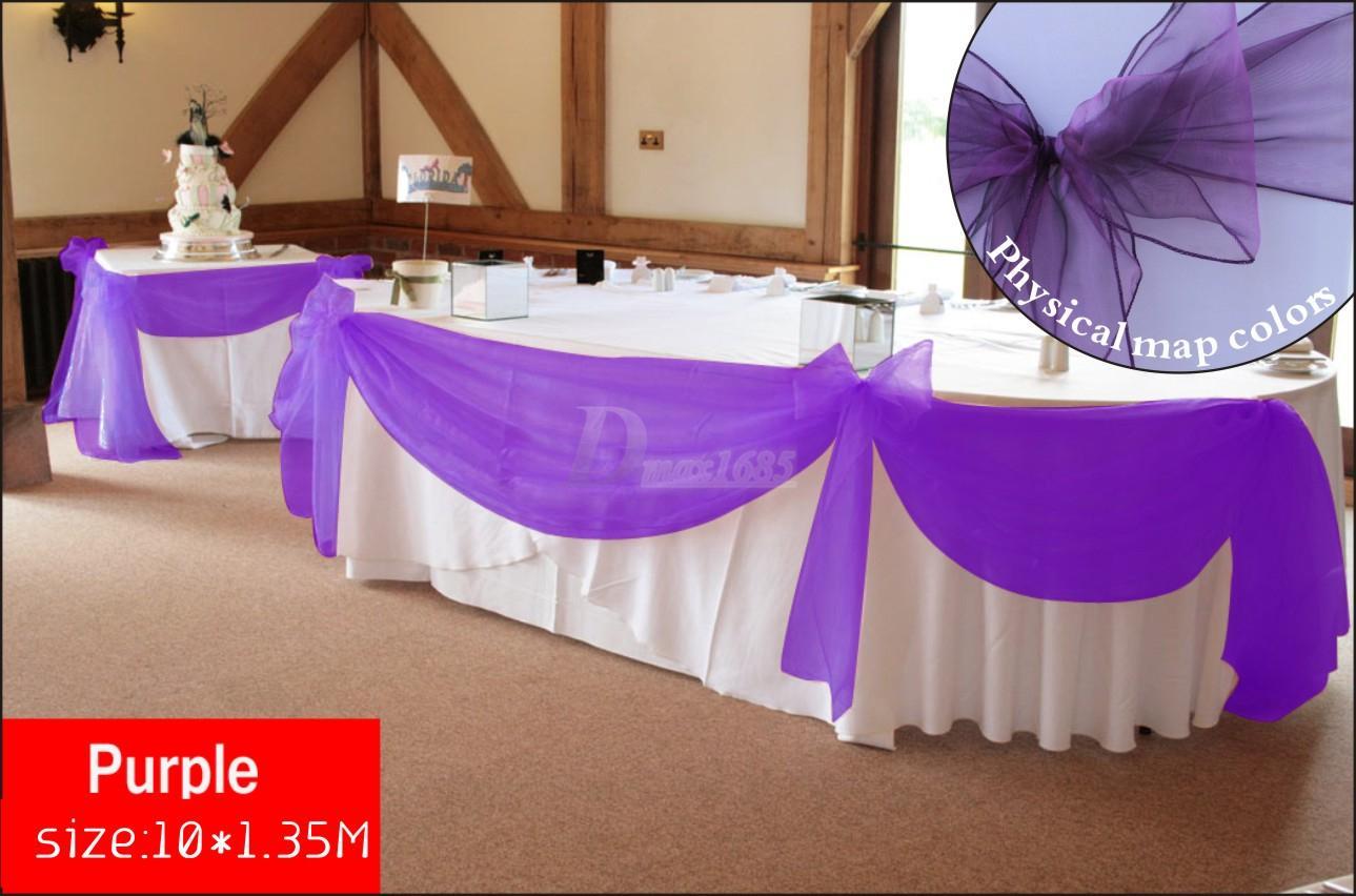 Organza Wedding Decorations Fashion Dresses