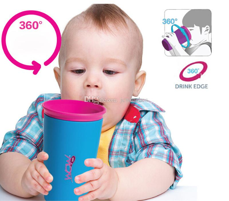 c738ee399 Spill Proof Drinking Wow Cup 300ml Baby Kids Safe Drinking Training ...