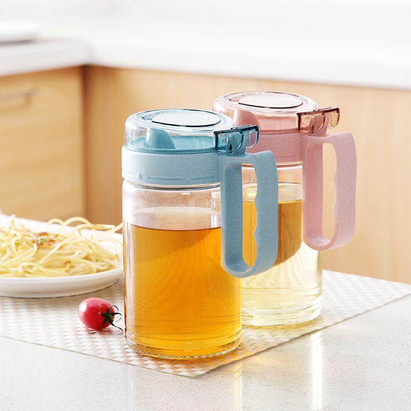 Exceptionnel 2018 Wholesale Glass Transparent Oil Pots Large Leakproof Installed Vinegar  Bottles Soy Sauce Bottles Kitchen Supplies Sesame Oil Bottles From  Herbertw, ...
