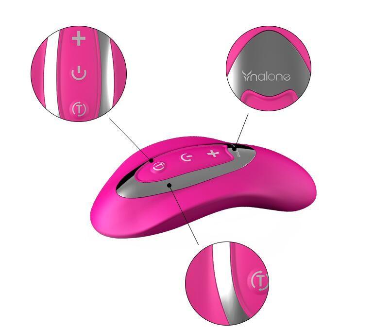 Nalone язык вибратор супер мощный 7 Функция Водонепроницаемый USB аккумуляторная беспроводной зондирования массажер взрослых Секс-Игрушки для женщин вибратор
