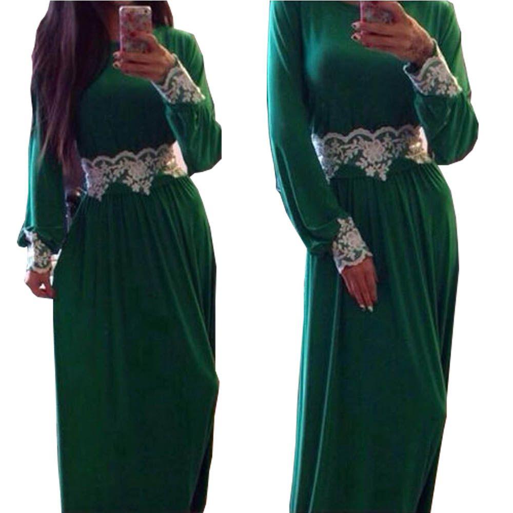 Emerald green plus size maxi dress