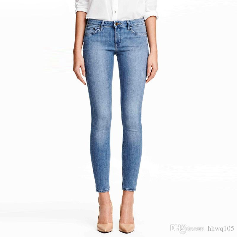 Plus Size Women Jeans Slim Skinny Pencil Pants Sexy Blue Denim Tights  Leggings Long Casual Trousers Drop Shipping BSF0359 UK 2019 From Hhwq105 52598bf01f9