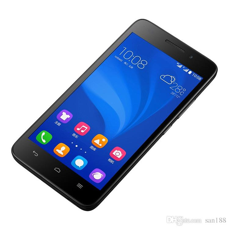 Quad core 4G network Ram 1GB Rom 8G unlocked huawei honor smart phone 5 inch G620S cell phone Android with WIFI GPS Bluetooth
