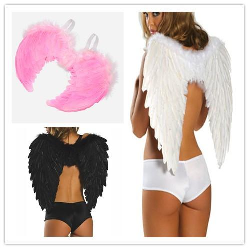 wholesale 2015 cosplay halloween costumes for women lolita angel wings size 65cm 3 colors party accessories a18001 - Halloween Costumes Angel Wings