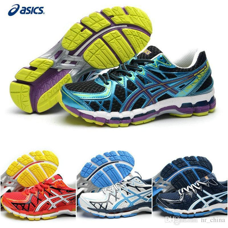 2015 New Brand Asics Cushion Gel Kayano 20 Running Shoes For Men, Cheap  Lightweight T3n2n 3290/0190 High Support Sneakers Eur Size 40 45 Men Shoes  On Sale ...