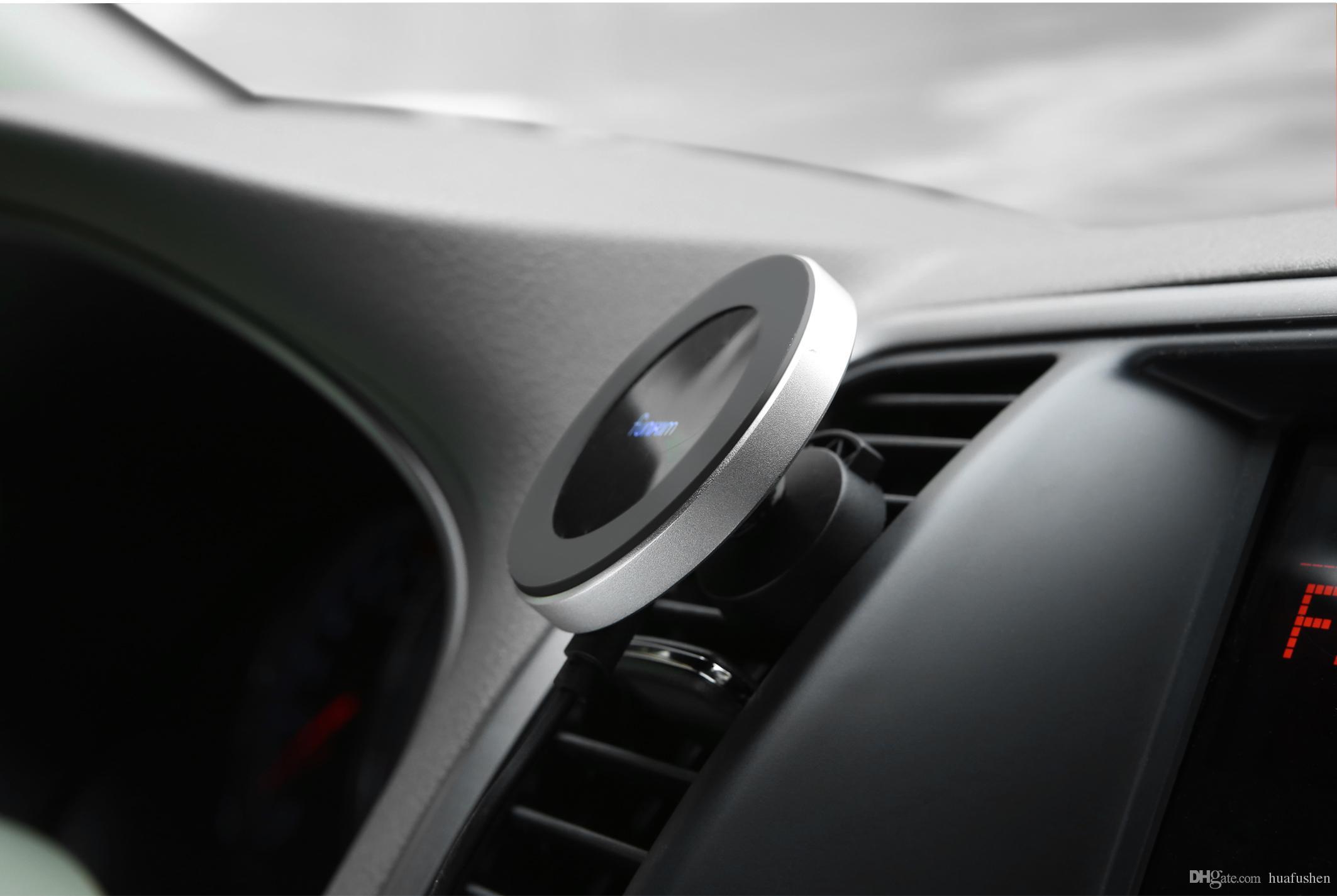Cargador inalámbrico rápido Cargador inalámbrico de coche inalámbrico