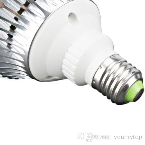 Dim LED 10 adet Ampul Par38 85-240 V 18 W E27 PAR 38 LED Aydınlatma Spot Lamba Işık Downlight