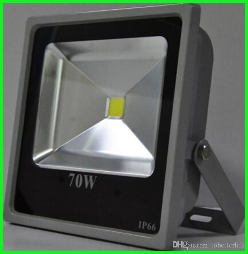 ONE piece New price 50w 70w 100W Outdoor Waterproof Led Floodlights Warm true White IP65 Led Flood Lights AC 85-265V downlight lights