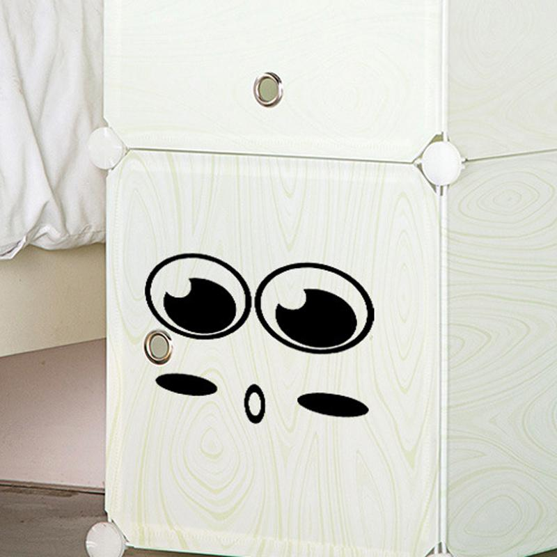 Emoji Wall Art emoji cabinet stove wardrobe toilet stickers home decoration
